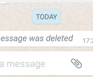 Read A Deleted Message On WhatsApp
