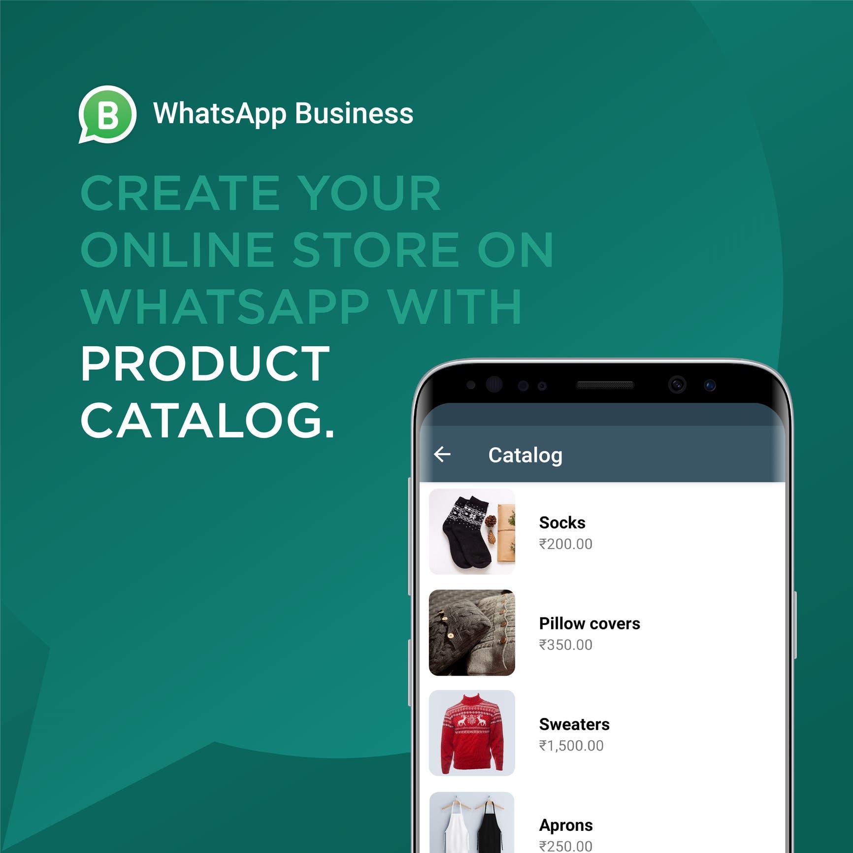 Whatsapp product catalog