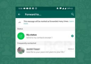 Frequently Contacted Whatsapp