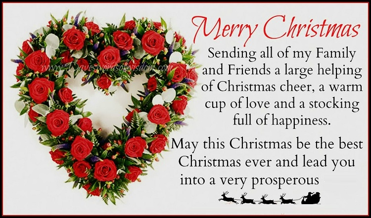Merry Christmas Poems For Family Amp Friends Poems And