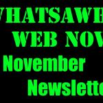 November Newsletter – 2020