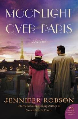#BookReview Moonlight Over Paris by Jennifer Robson