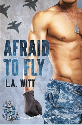 #BookReview Afraid to Fly by L.A. Witt @GallagherWitt @RiptideBooks