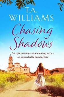 #BookReview & #BlogTour  Chasing Shadows by T.A. Williams @TAWilliamsBooks @canelo_co