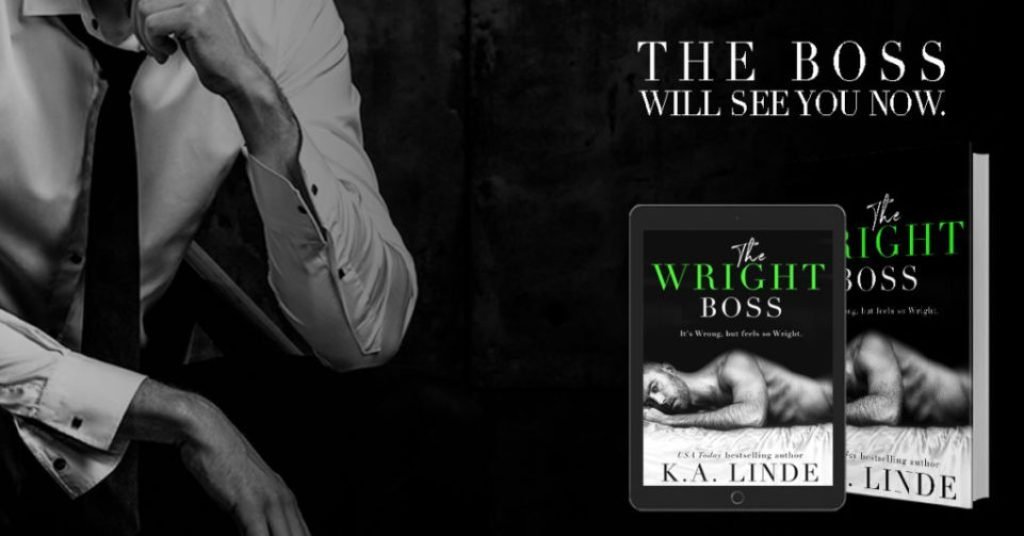 #BlogTour & #BookReview The Wright Boss by K.A. Linde @AuthorKALinde @InkSlingerPR