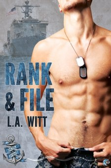 #BookReview Rank & File by L.A. Witt @GallagherWitt @RiptideBooks