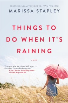 #BookReview Things to Do When It's Raining by Marissa Stapley @marissastapley @SimonSchusterCA @HarlequinBooks