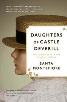 #BookReview Daughters of Castle Deverill by Santa Montefiore @SantaMontefiore @SimonSchusterCA