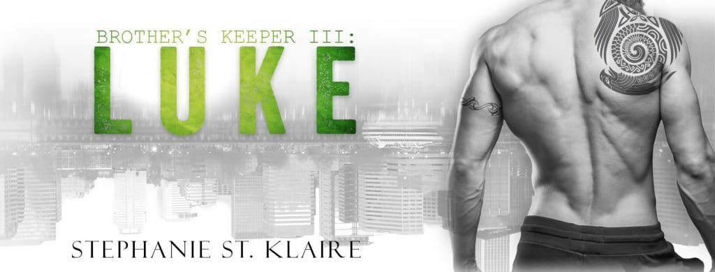 #BlogTour #BookReview Brother's Keeper III: Luke by Stephanie St. Klaire @StephStKlaire @InkSlingerPR