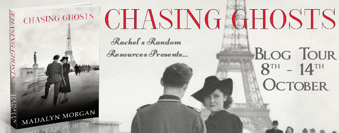 #BlogTour #BookReview Chasing Ghosts by Madalyn Morgan @ActScribblerDJ @rararesources