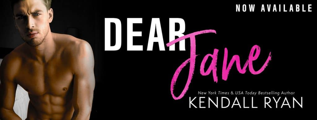#BlogTour #BookReview Dear Jane by Kendall Ryan @KendallRyan1 @InkSlingerPR