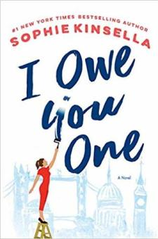 #BookReview I Owe You One by Sophie Kinsella @KinsellaSophie @randomhouse