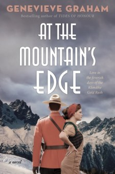 #BookReview At the Mountain's Edge by Genevieve Graham @GenGrahamAuthor @SimonSchusterCA