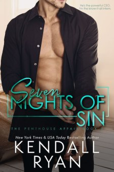 #BlogTour #BookReview Seven Nights of Sin by Kendall Ryan @KendallRyan1