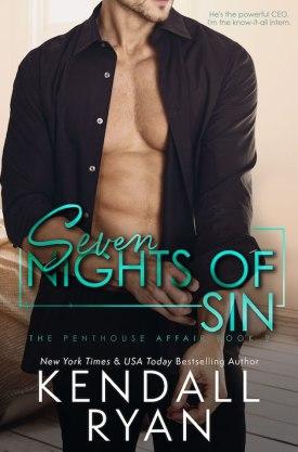 #BlogTour #BookReview Seven Nights of Sin by Kendall Ryan @KendallRyan1