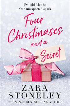 #BookReview #BlogTour Four Christmases and a Secret by Zara Stoneley @ZaraStoneley @rararesources