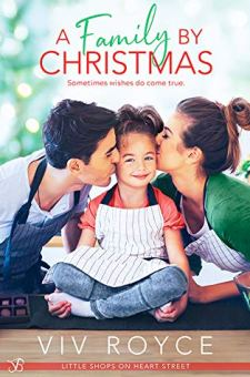 #BookReview A Family by Christmas by Viv Royce @VivWrites @entangledpub