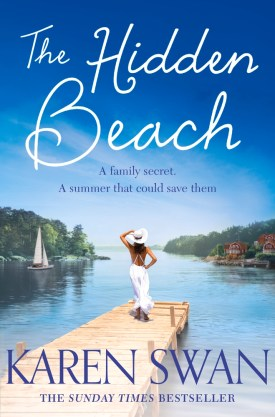 #BookReview The Hidden Beach by Karen Swan @KarenSwan1 @PGCBooks @panmacmillan #TheHiddenBeach