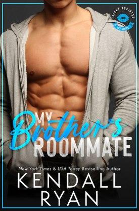 #BlogTour #BookReview My Brother's Roommate by Kendall Ryan @KendallRyan1 #MyBrothersRoommate #FriskyBusiness #KendallRyan