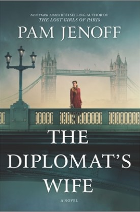 #BookReview The Diplomat's Wife by Pam Jenoff @PamJenoff @HarlequinBooks @Bookclubbish #TheDiplomatsWife #PamJenoff #Bookclubbish #HTPBooks