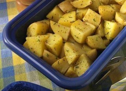 microwave roasted potatoes recipe 10 minute potatoes