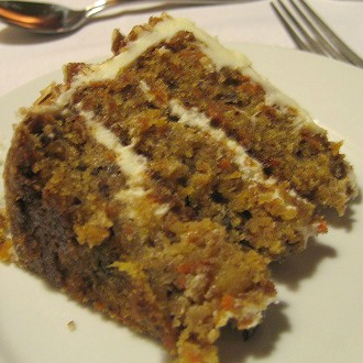 Carrot and Pineapple Cake Recipe  Whats Cooking America Carrot and Pineapple Cake Slice