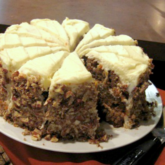 Carrot And Pineapple Cake Recipe Whats Cooking America