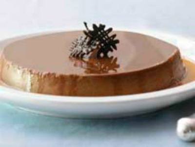 Dark Chocolate Flan Recipe Whats Cooking America