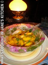 Fruit Salad In Homemade Ice- Bowl ©