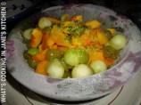 Fruit salad In Flower Ice-Bowl ©