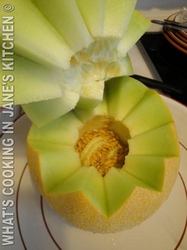 Summer Melon Fruit Salad ©