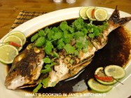 Thai Baked Fish ©