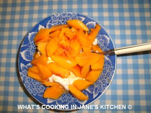 "Summer Peach Yogurt And Fresh Lime Dessert © "" ""Desserts"""