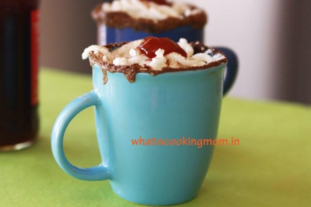5 minute eggless chocolate mug cake #eggless #mugcake #dessert #sweets #easyrecipes