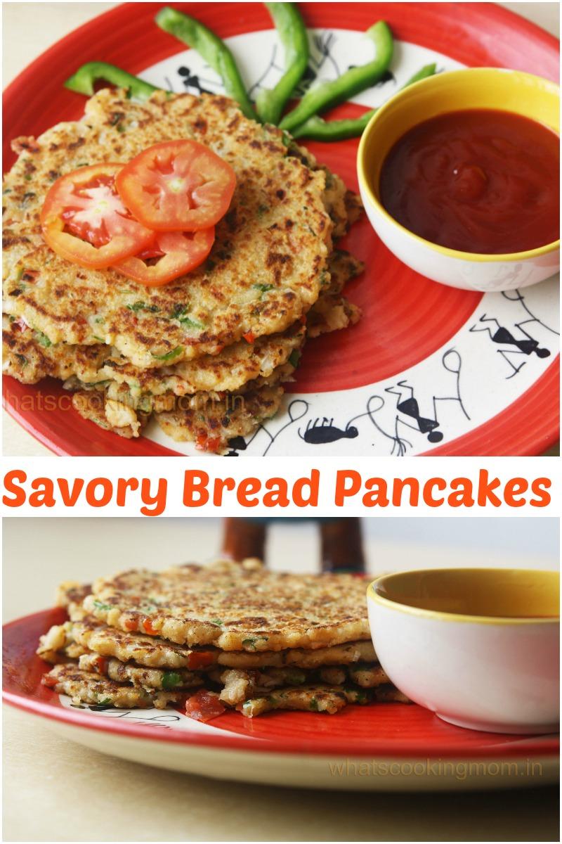 savory bread pancakes