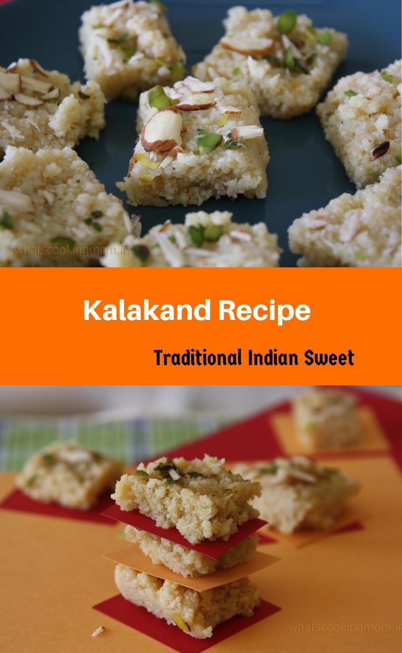 kalakand Recipe - traditional Indian Sweet