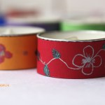 Decorative tea lights – Diwali craft