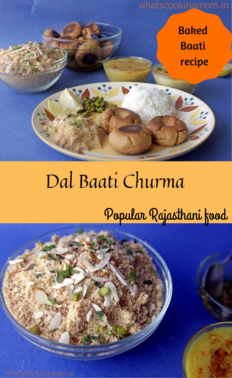 Daal Baati Churma - Traditional Rajasthani food