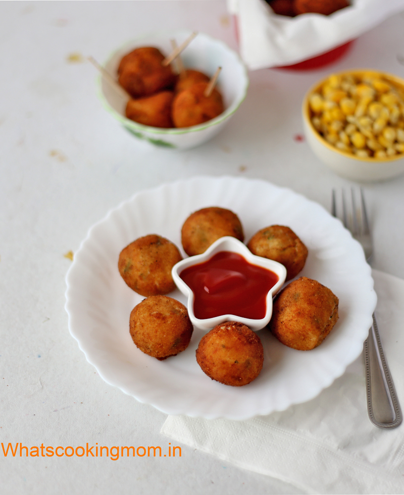 Potato Cheese Balls