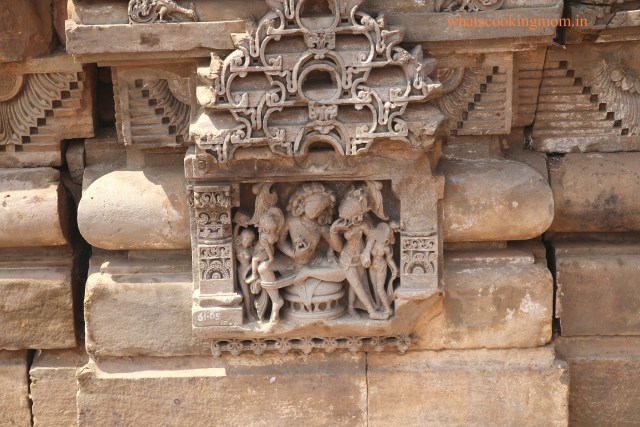 carving Harshat mata temple 2