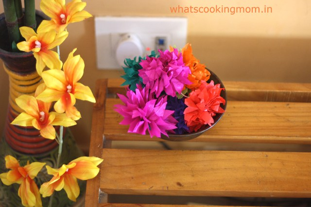 crepe paper flowers 1