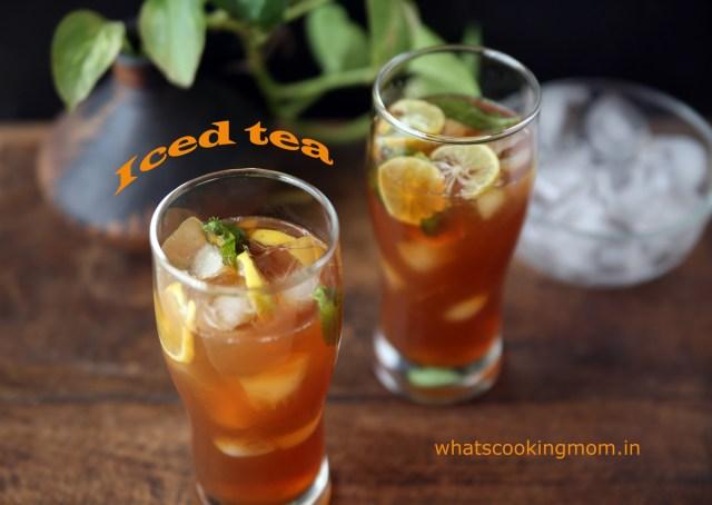 cool iced tea