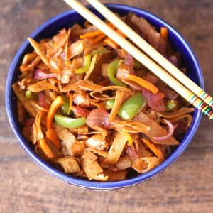 Roti Noodles #vegetarian #healthy #snack #fusionfood