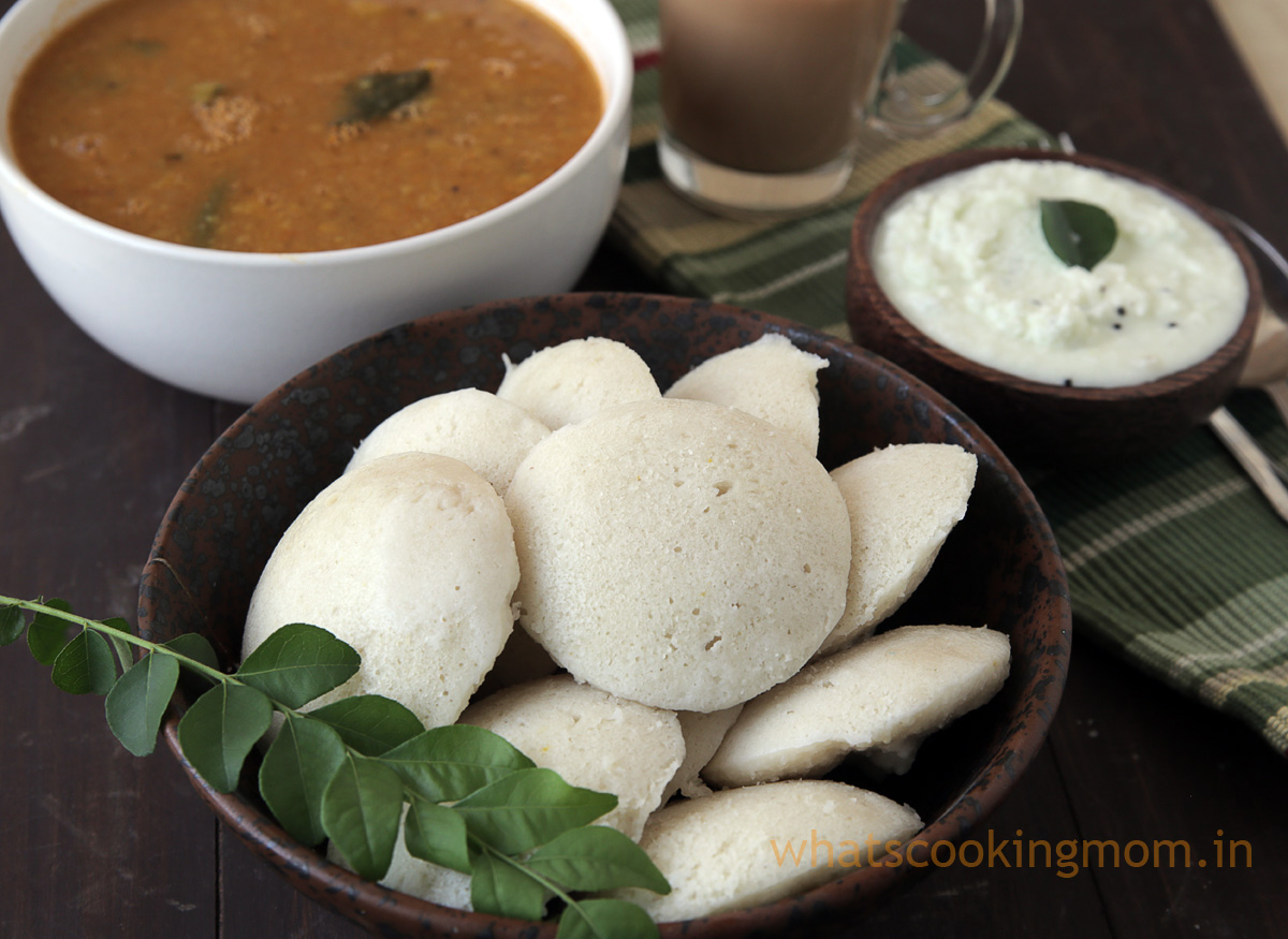 Rice Idli Recipe - how to make Rice idli batter