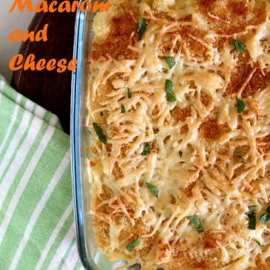 Baked Macaroni and Cheese - #kidsfavorite #eggless #macandcheese