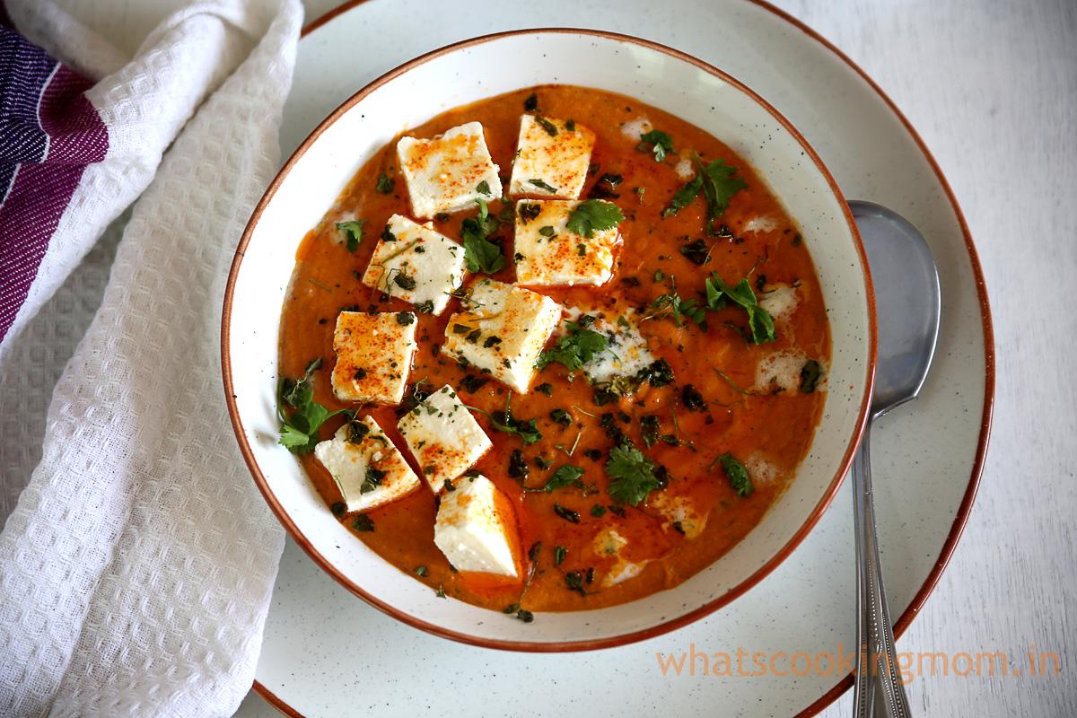 Paneer Butter masala recipe- #rich #indian #curry #paneerrecipe #cottagecheesecurry