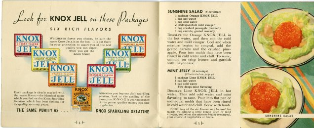 Flavors and sample recipes