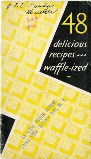 front cover, including title and waffle iron pattern