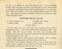 Sugared Popcorn and Popcorn Balls, pg.