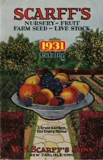 Scarff's nursery, fruit, farm seed, live stock, 1931